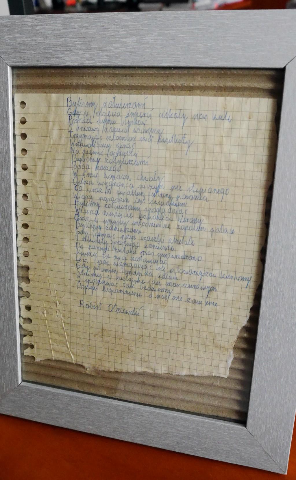 Wiersz Roberta Olszewskiego O żołnierzach Wyklętych